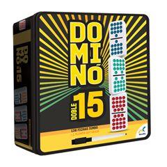 Domino Doble 15 De Colores D585 - Sanborns