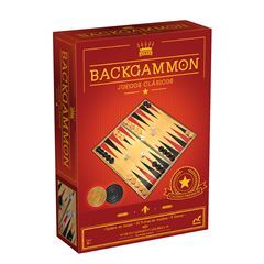 Backgammon Novelty fichas de madera - Sanborns