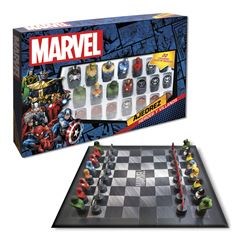 Ajedrez Novelty de Marvel - Sanborns