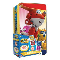 Juego de Mesa DOMINO PASTA  SUPER WINGS EN TI - Sanborns