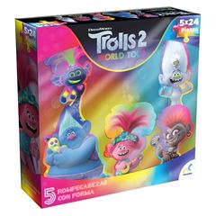Rompecabezas con Forma Trolls World Tour Novelty - Sanborns