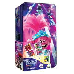 Juego de Mesa Domino en Tin Trolls World Tour Novelty - Sanborns