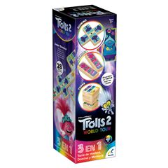 Juego de Mesa Torre de Madera 3 en 1 Trolls World Tour Novelty - Sanborns
