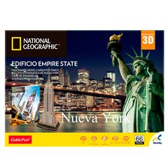 Rompecabezas 3D National Geographic City Travel Nueva York - Sanborns