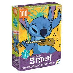 Rompecabezas 100pzas Especial Aterciopelado Stitch - Sanborns