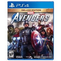 PS4 Marvel Avengers Deluxe Edition - Sanborns