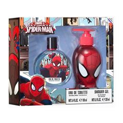 Fragancia Spiderman Disney EDT 100ml + SG 250 ml - Sanborns