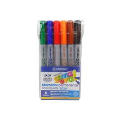 Marcador para foamy blister x 6 colores - Sanborns