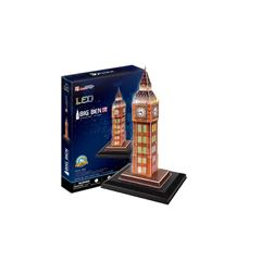 Rompecabezas 3D Led Big Ben Cubic Fun - Sanborns