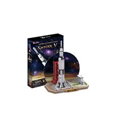 Rompecabezas 3D Saturn V Rocket Cubic Fun - Sanborns