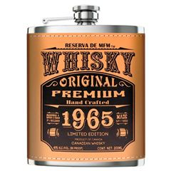 Whysky Reserva MFM ( Flask) 200 ml - Sanborns