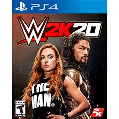 Preventa PS4 WWE 2K20 - Sanborns