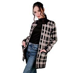 Suéter ensamble Zuio cuadros-negro - Sanborns
