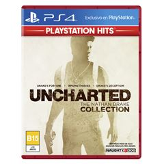 PS4 Hits UC The Nathan Drake - Sanborns