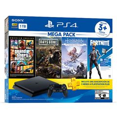 Consola PlayStation4 1Tb Mega Pack 6 - Sanborns
