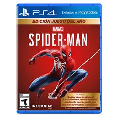Spiderman GOTY Edition PlayStation 4 - Sanborns
