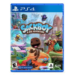 PS4 Sackboy A Big Adventure - Sanborns