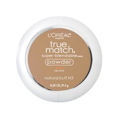 Polvo Maquillaje L'Oréal París True Match Tono Natural Buff - Sanborns