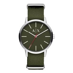 Reloj Armani Exchange AX2709 Color Verde Para Caballero - Sanborns