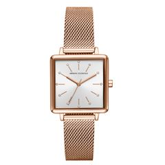 Reloj Armani Exchange AX5802 Color Oro Rosa Para Dama - Sanborns