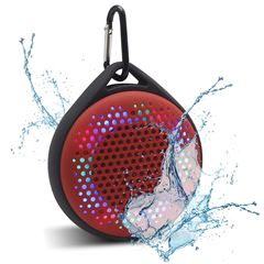 Bocina Magnavox Waterproof Bluetooth Roja - Sanborns