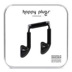 Audífonos Earbud Negro Happy Plugs - Sanborns