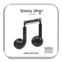 Audífonos Earbud Plus Mármol Negro Happy PLugs - Sanborns