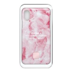 Happy Plugs iPhone X Slim Case Mármol Rosa - Sanborns