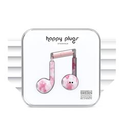 Audífonos Earbud Rosa Mármol Happy Plugs - Sanborns