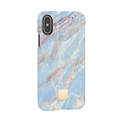 Funda iPhone X/XS Blue Quartz Happy Plugs - Sanborns