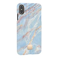 Funda iPhone XS Max Blue Quartz Happy Plugs - Sanborns