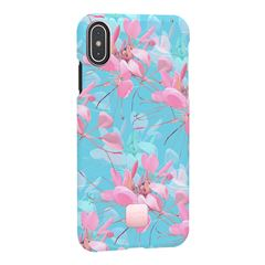 Funda iPhone XS Max Botánica Exotic Happy Plugs - Sanborns