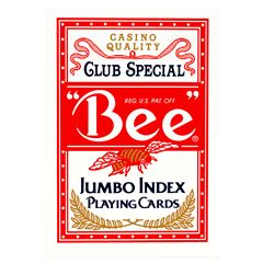 Baraja Bee Poker Jumbo - Sanborns