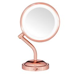 Espejo Rose Gold Iluminacion Led Conair - Sanborns