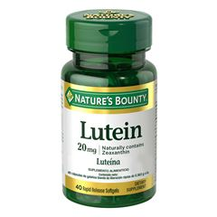 Luteina 20 mg Nature´s Bounty - Sanborns