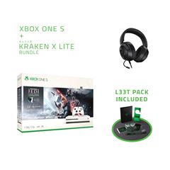 Consola Xbox One S 1 TB Star Wars + Razer Bundle - Sanborns