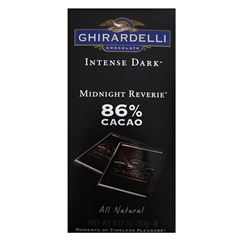 Barra de Chocolate Midnight Reverie de 90 gramos Ghirardelli - Sanborns