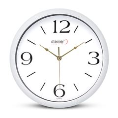 Reloj de Pared Steiner Blanco 3342-YZ - Sanborns