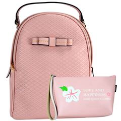 Bolsa Huser Backpack Mediano Modelo Sh19409-2 Color Rosa - Sanborns