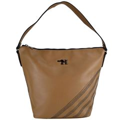 Bolsa Huser Hobo Sintético Café Claro - Sanborns