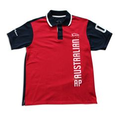 Playera Polo Melbourne grande rojo - Sanborns