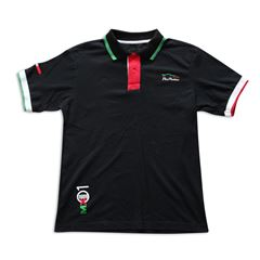 Playera Polo Pole Position México grande negra - Sanborns