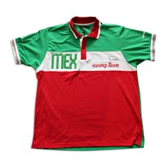 Playera Polo Pole Position México mediana - Sanborns