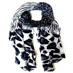 Pashmina con Estampado Animal Print Phi By Philosophy - Sanborns