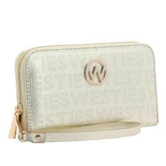 Cartera Westies beige - Sanborns