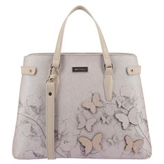 Bolso Satchel Westies beige - Sanborns
