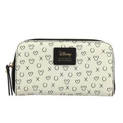 Cartera W Capsule blanco zip around Para Dama - Sanborns