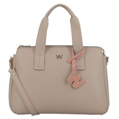 Bolsa Satchel  Beige Westies - Sanborns