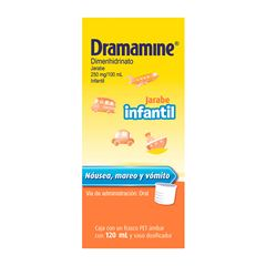 Dramamine Jarabe Infantil 250mg/100ml - Sanborns