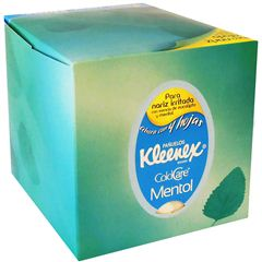 Kleenex Cold Care Mentol - Sanborns